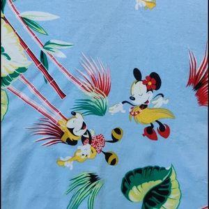Disney Store Tropical Disney Gang Shirt